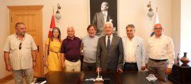 Göztepe Kulübü Başkanı'ndan Başkan Gürün'e Ziyaret (5)