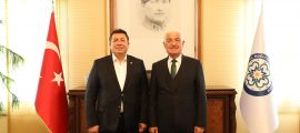 Alban'dan Başkan Gürün'e ziyaret