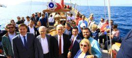 Başkan Gürün STS Bodrum'u Samsun'a Uğurladı (10)
