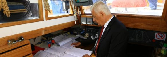 Başkan Gürün STS Bodrum'u Samsun'a Uğurladı (9)