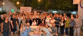 100 Yaş Evi üyeleri gençlerle dans gecesinde bir araya geldi (2)