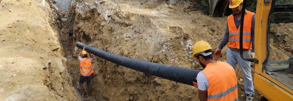 Kavaklıdere'ye dev alt yapı hizmeti başladı (1)