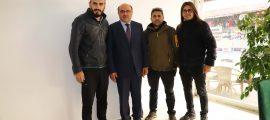 """Başkan Otgöz'den """"Ajans"""" Muhabirlerine Ziyaret (1)"""