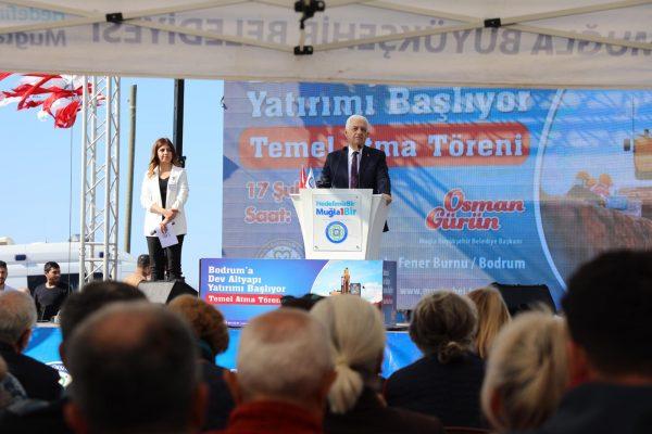 -Büyükşehirden Bodrum'a Dev Alt Yapı Yatırımı (2)