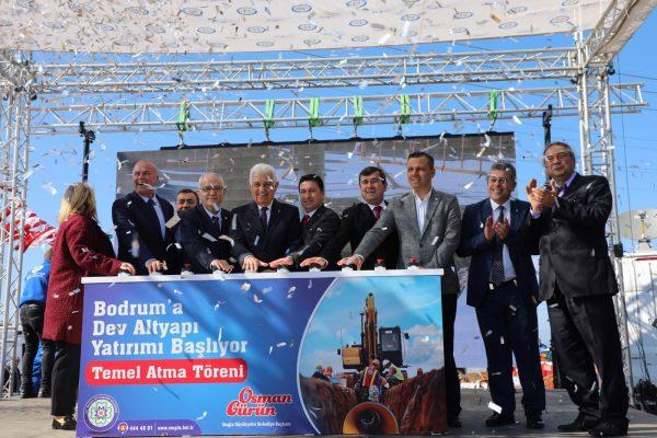 -Büyükşehirden Bodrum'a Dev Alt Yapı Yatırımı (5)