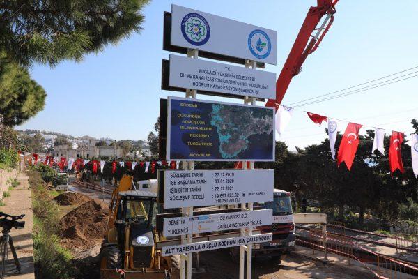 -Büyükşehirden Bodrum'a Dev Alt Yapı Yatırımı (9)