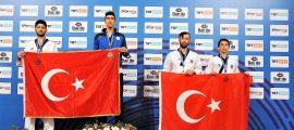 Büyükşehir'in Taekwondocuları göğüs kabarttı (5)
