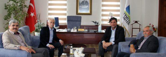 Başkan Karaca Parti Sözcüleriyle Bir Araya Geldi (2)