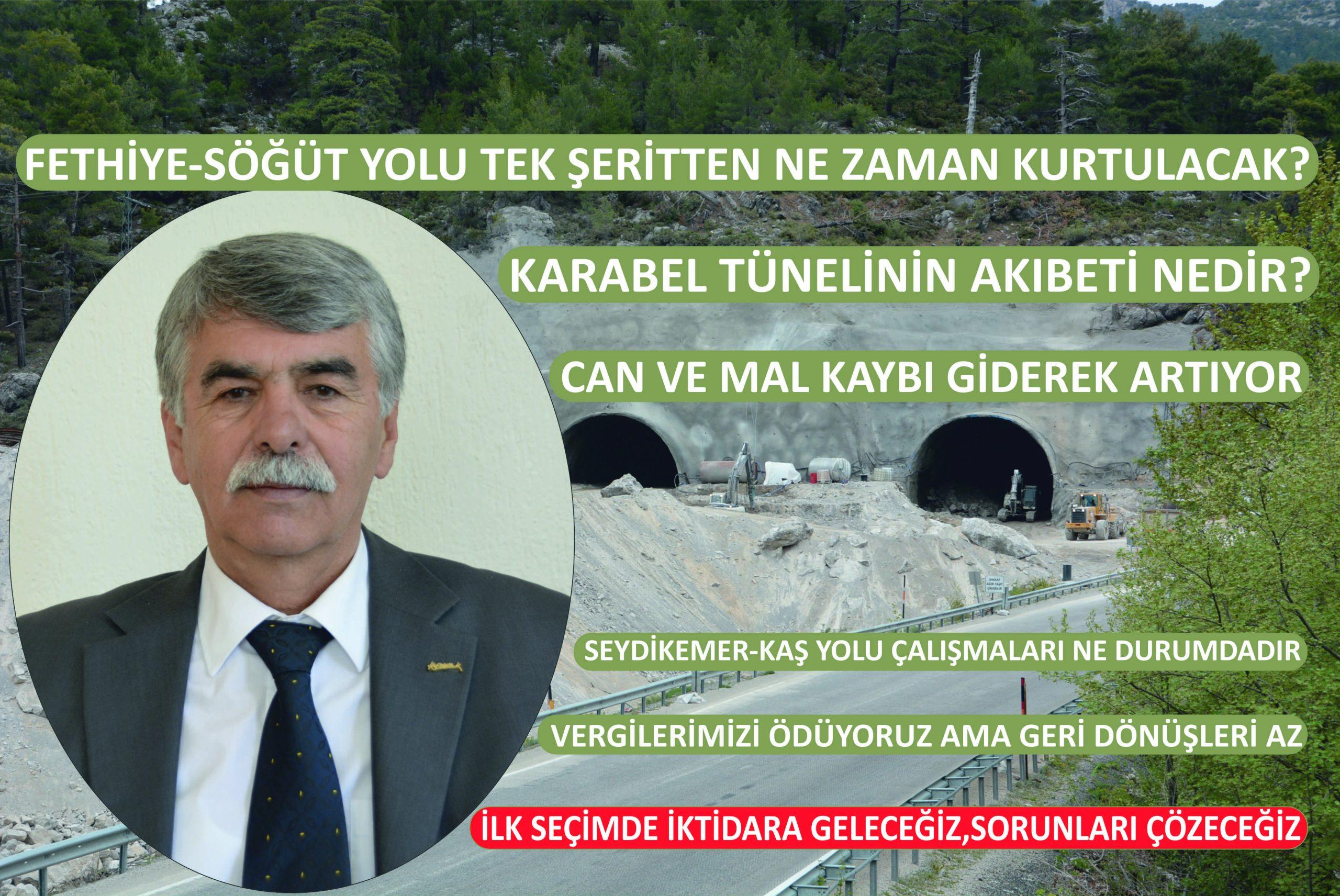 """CHP'li Başkan """"Yollarda İşkence Görüyoruz"""""""