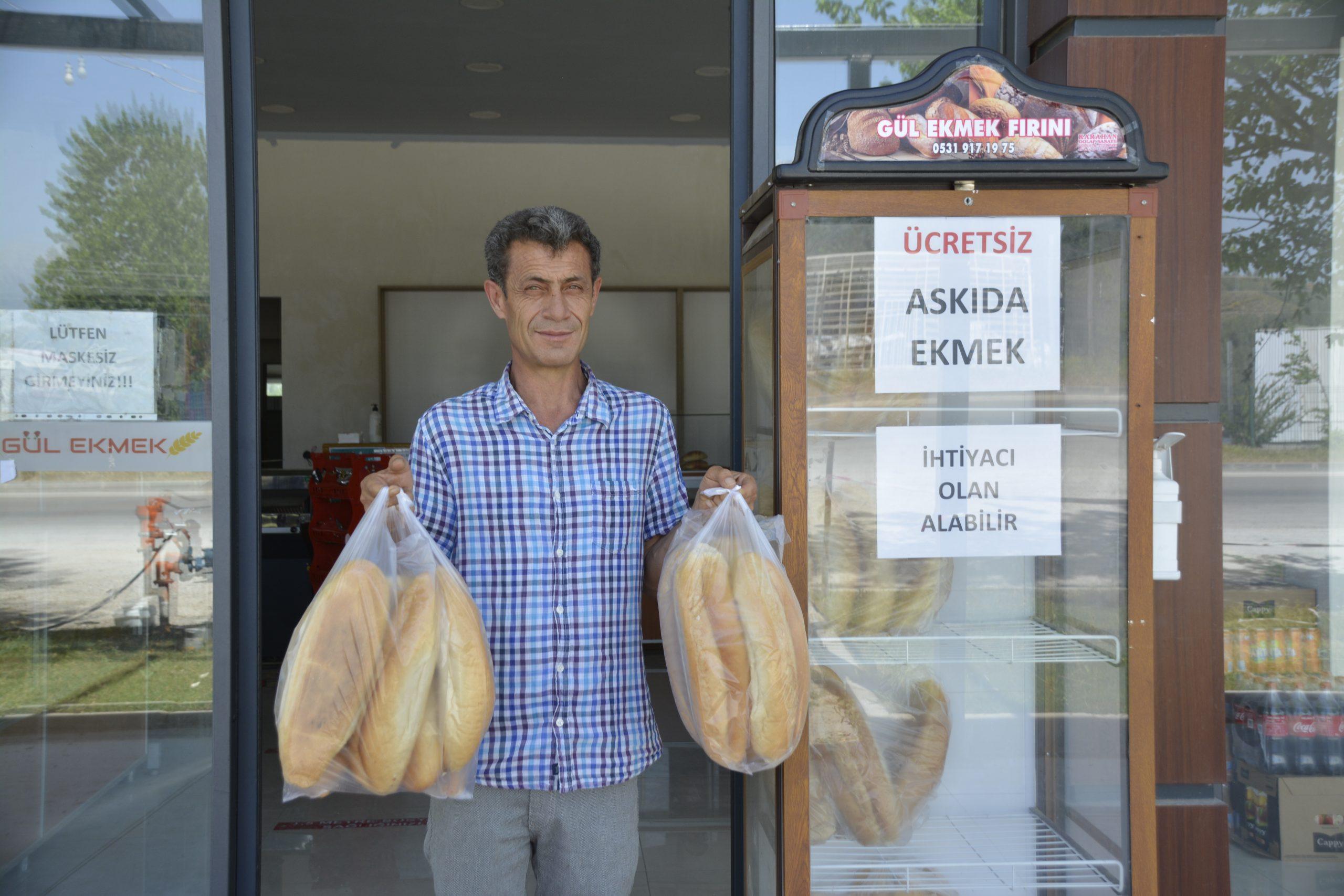 Askıda Ekmek Seydikemer'de