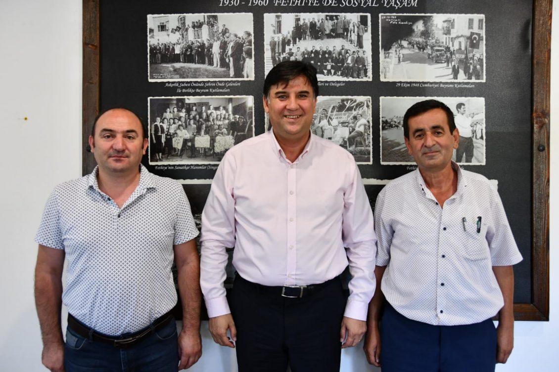 Güven ve Şahin'den Karaca'ya Ziyaret