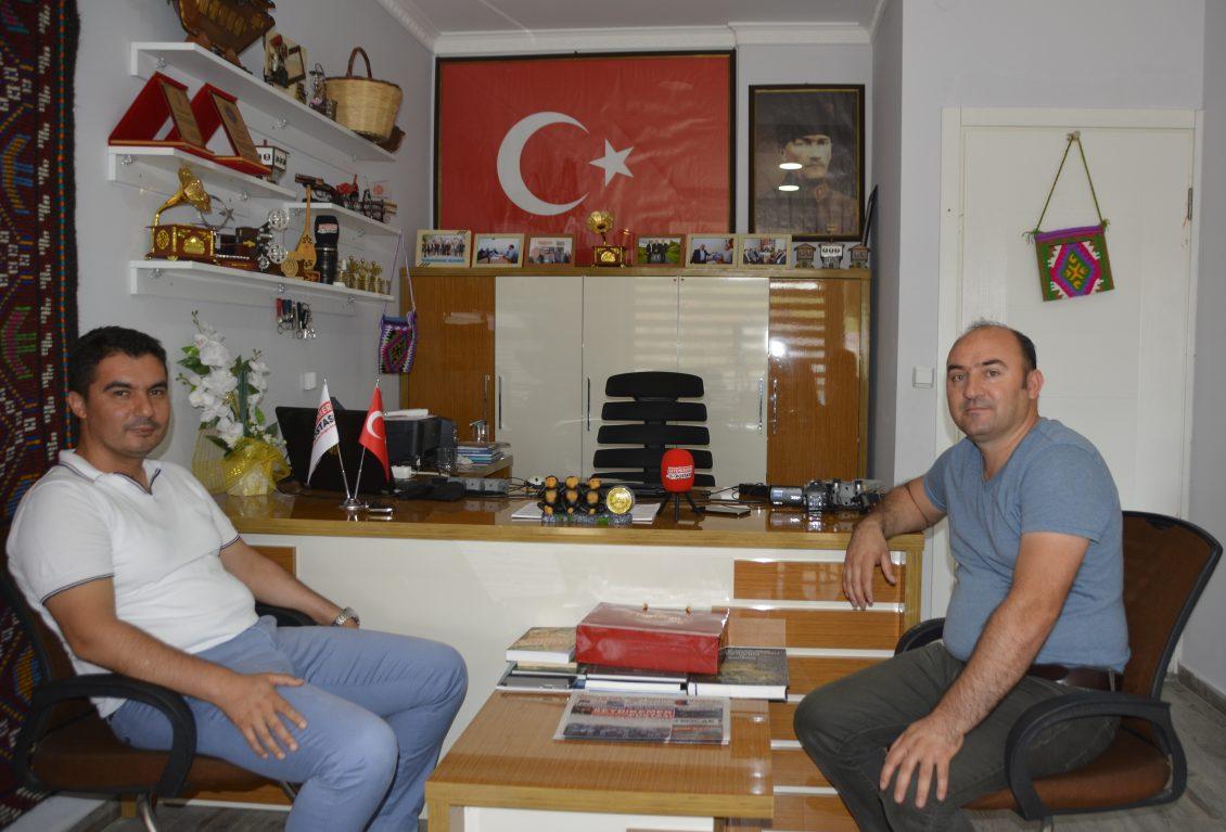 AK Parti'den Ofisimize Ziyaret